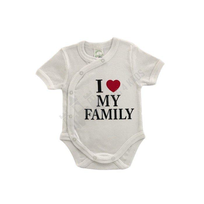 """Боди """"I love my family"""" 50-62"""