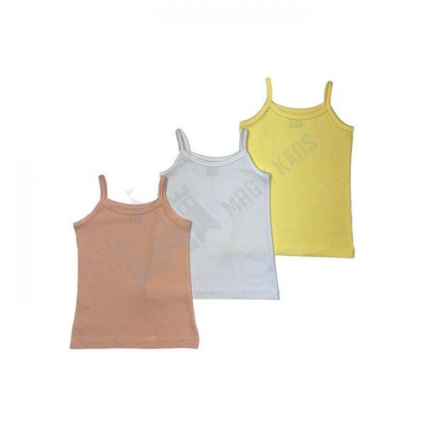 Потник цветен тънка презрамка памук-ликра 110-128