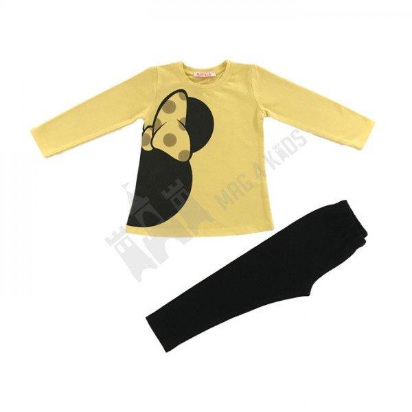 Клин с туника панделка 92-104 жълт