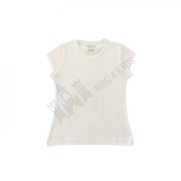 Тениска къс ръкав рипс момиче 110-128