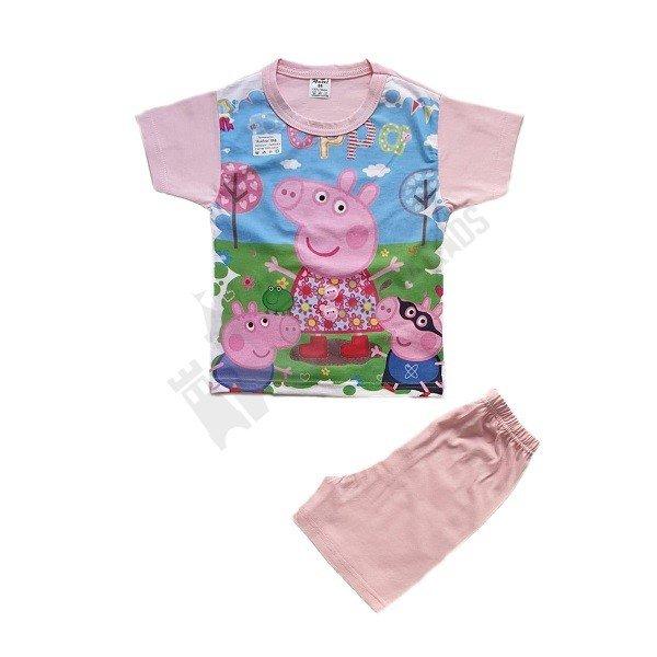 """Пижама къс ръкав """"Peppa Pig"""" 98-116"""