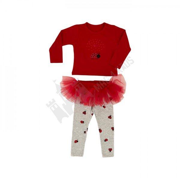 """Комплект """"Ladybug tutu"""" 62-80"""