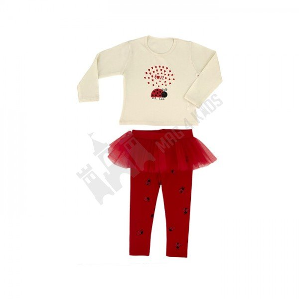 """Комплект """"Ladybug tutu"""" 86-104"""