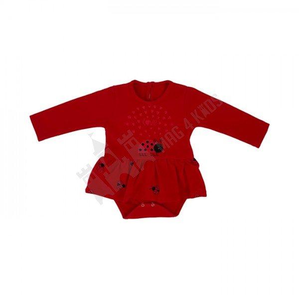 """Боди рокля """"Ladybug"""" 56-80"""